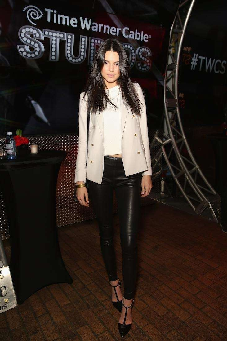 Kendall Jenner attends Time Warner Cable Studios and
