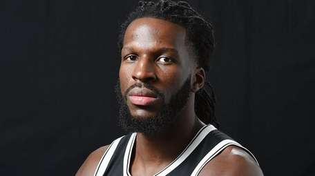 DeMarre Carroll of the Nets poses during Nets Media