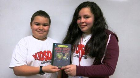 Kidsday reporters Jake Maass and Sanya Galiano recommend