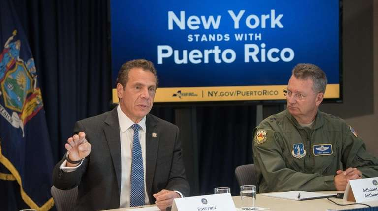 Governor Andrew M. Cuomo holds a press conference