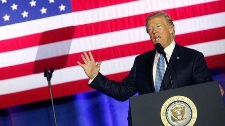 President Donald Trump unveils his tax reform plan