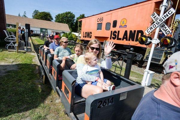 The Railroad Museum of Long Island in Riverhead