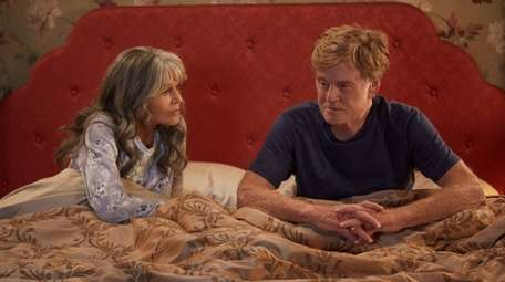Jane Fonda and Robert Redford in