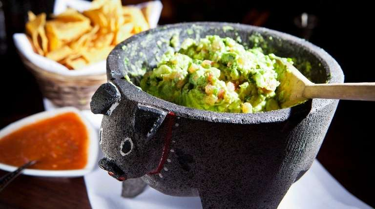 Guacamole is a specialty at Besito, a Mexican