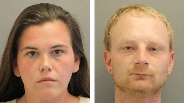 Brittney Schmidt, 31, and Vincent Fina, 30, both