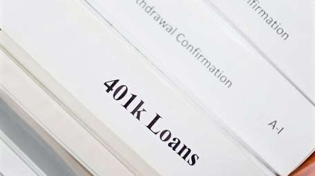 Don't borrow from your 401(k) lightly, but there