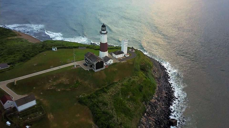The Montauk Lighthouse is seen on June 21,