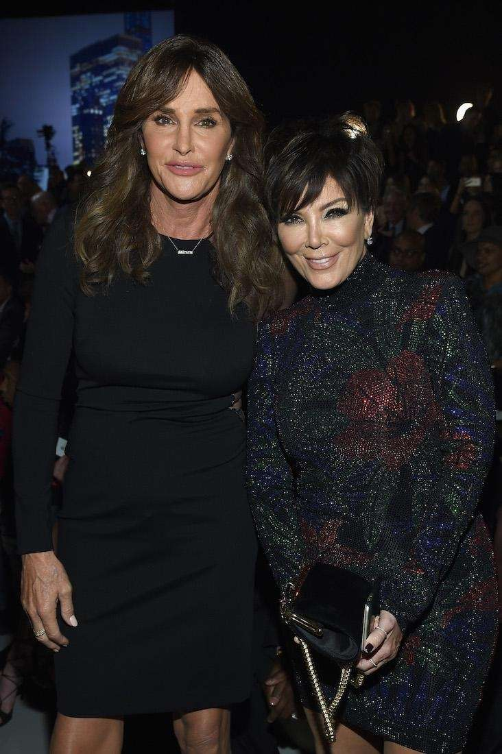 Caitlyn and Kris Jenner attend the 2015 Victoria's