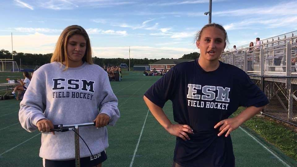 Eastport-South Manor's Dayna Martinetto and Kasey Choma discussed