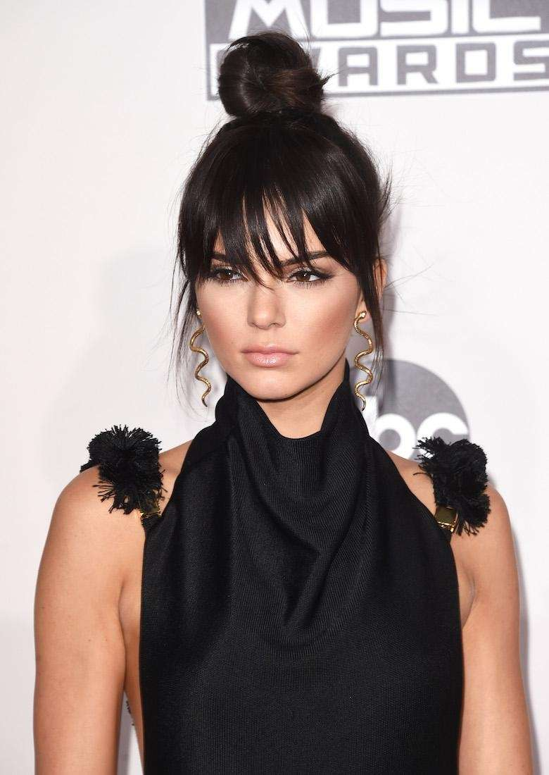Kendall Jenner attends the American Music Awards at