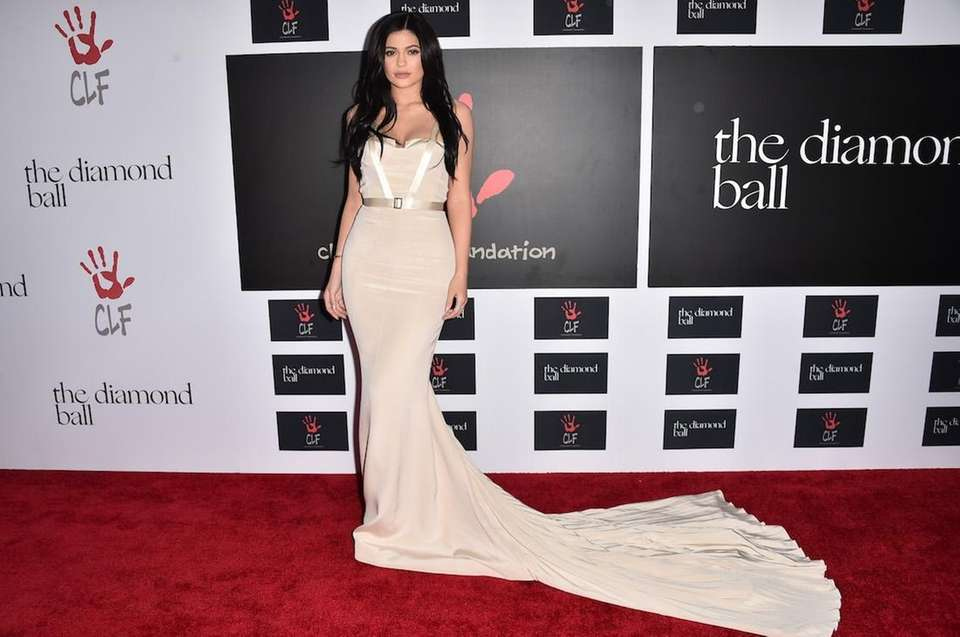 Kylie Jenner attends the 2nd annual Diamond Ball