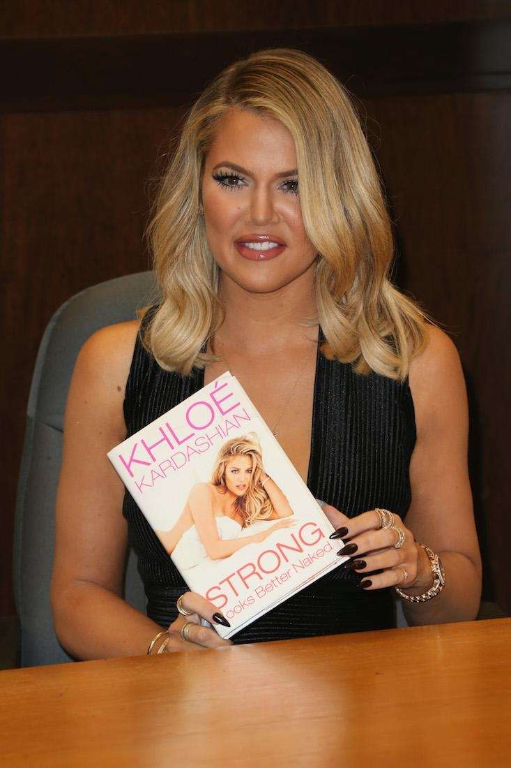 Khloe Kardashian signs and discusses her new book