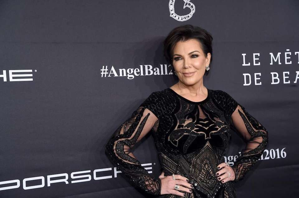 Kris Jenner attends the Angel Ball hosted by