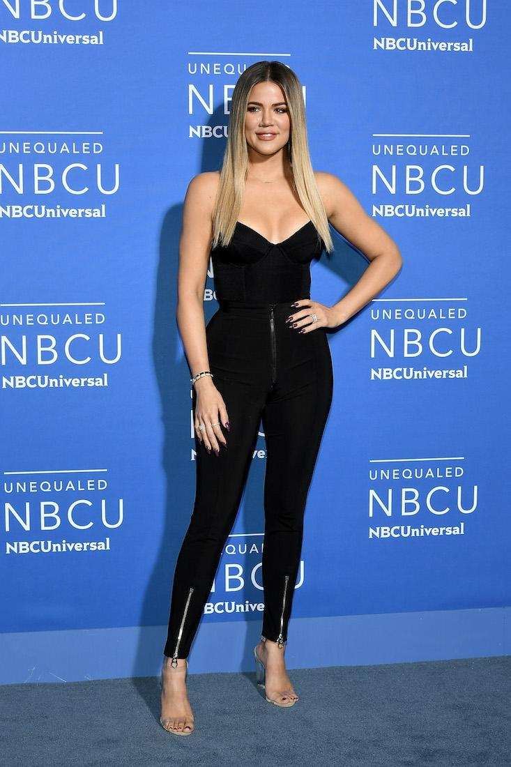 Khloe Kardashian attends the NBCUniversal Upfront at Radio