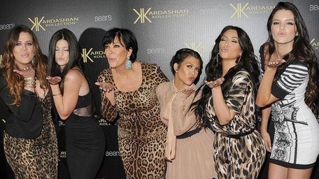 Khloe Kardasian, Kylie Jenner, Kris Kardashian, Kourtney Kardashian,