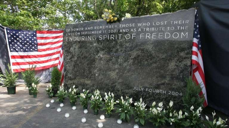 In this July 3, 2006, photo the cornerstone