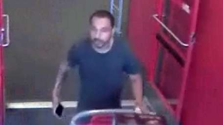 Suffolk County police released this surveillance image, saying