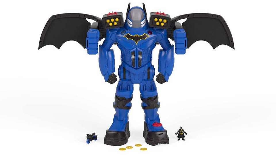 The Batman Batbot Xtreme is an interactive version