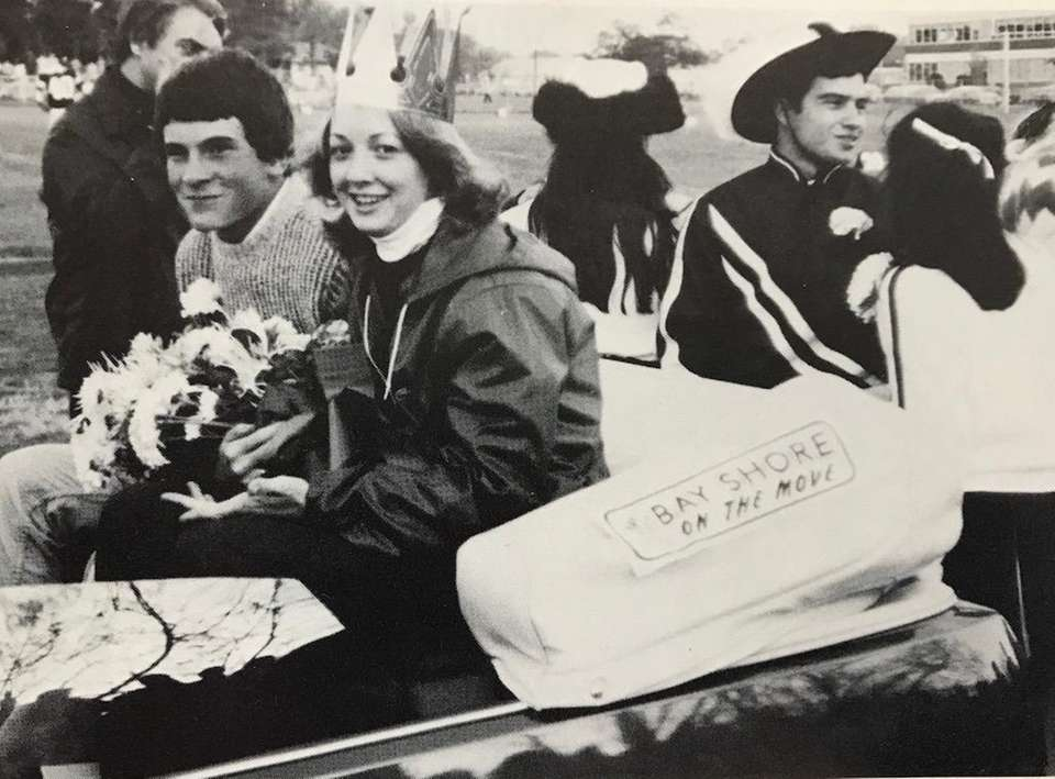 Sonia Murdock, née Genther, was crowned homecoming queen