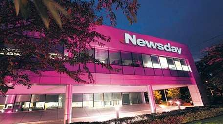 If you pass by Newsday's Melville headquarters in
