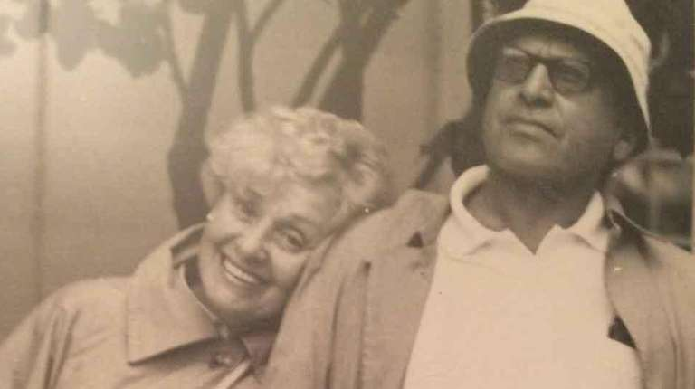 Herta and Mortimer Weiss of Elmont, parents of