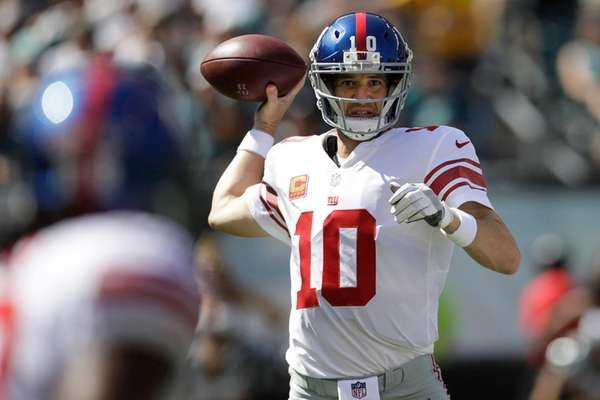 Giants QB Eli Manning employed a quicker release