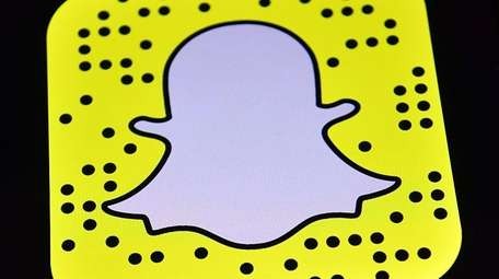 The Snapchat app logo is displayed on an