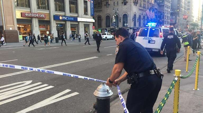 A one-car crash in midtown injured at least