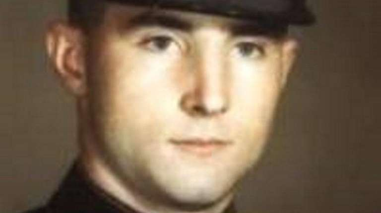 Marine Cpl. Patrick Gallagher, an immigrant, was awarded