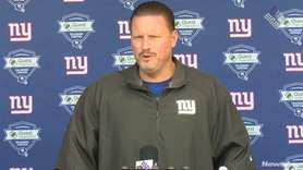 New York Giants head coach Ben McAdoo says