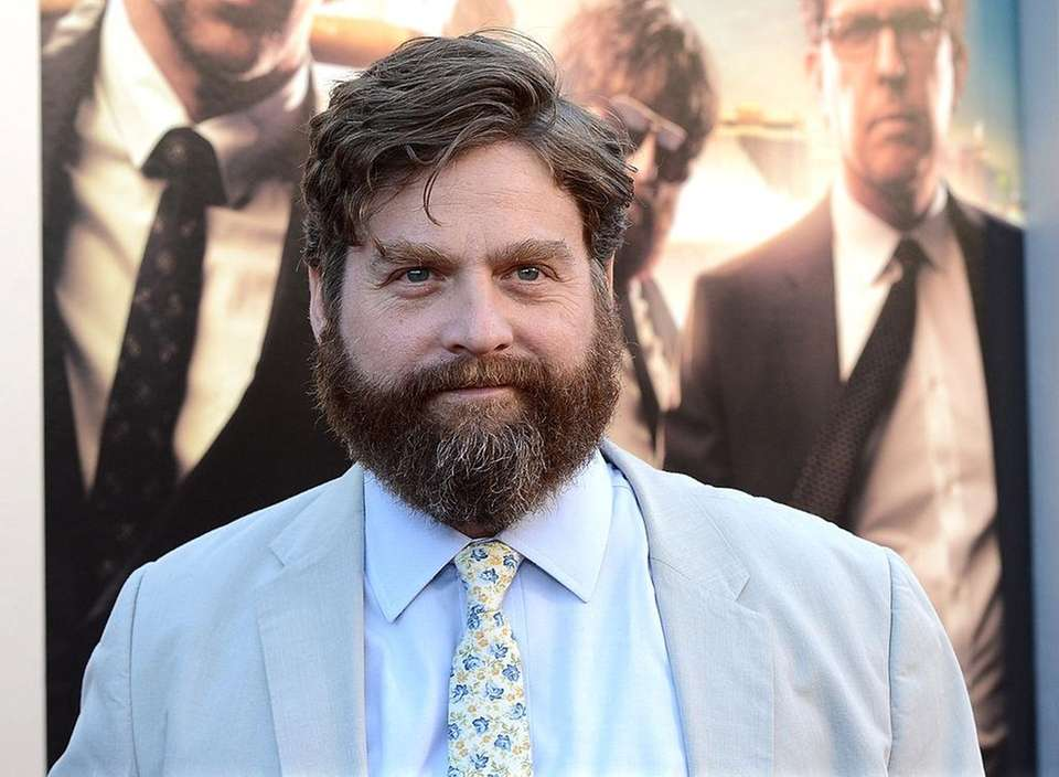 Zach Galifianakis was born on Oct. 1, 1969.