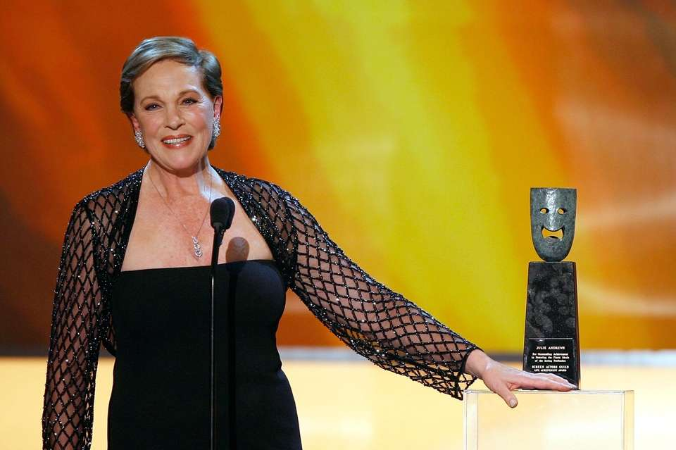 Julie Andrews was born on Oct. 1, 1935.
