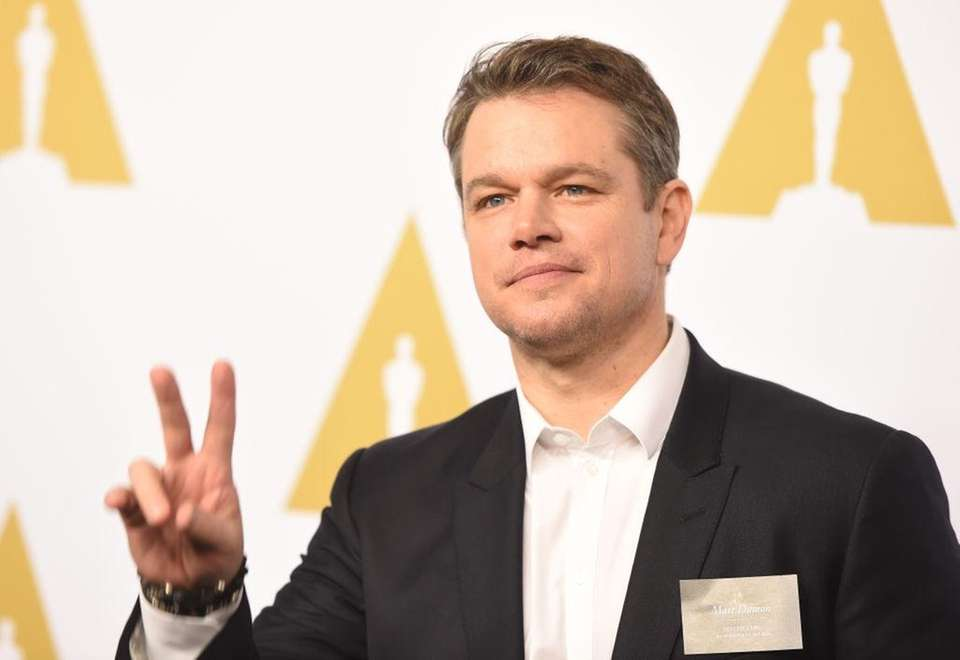 Matt Damon was born on Oct. 8, 1970.