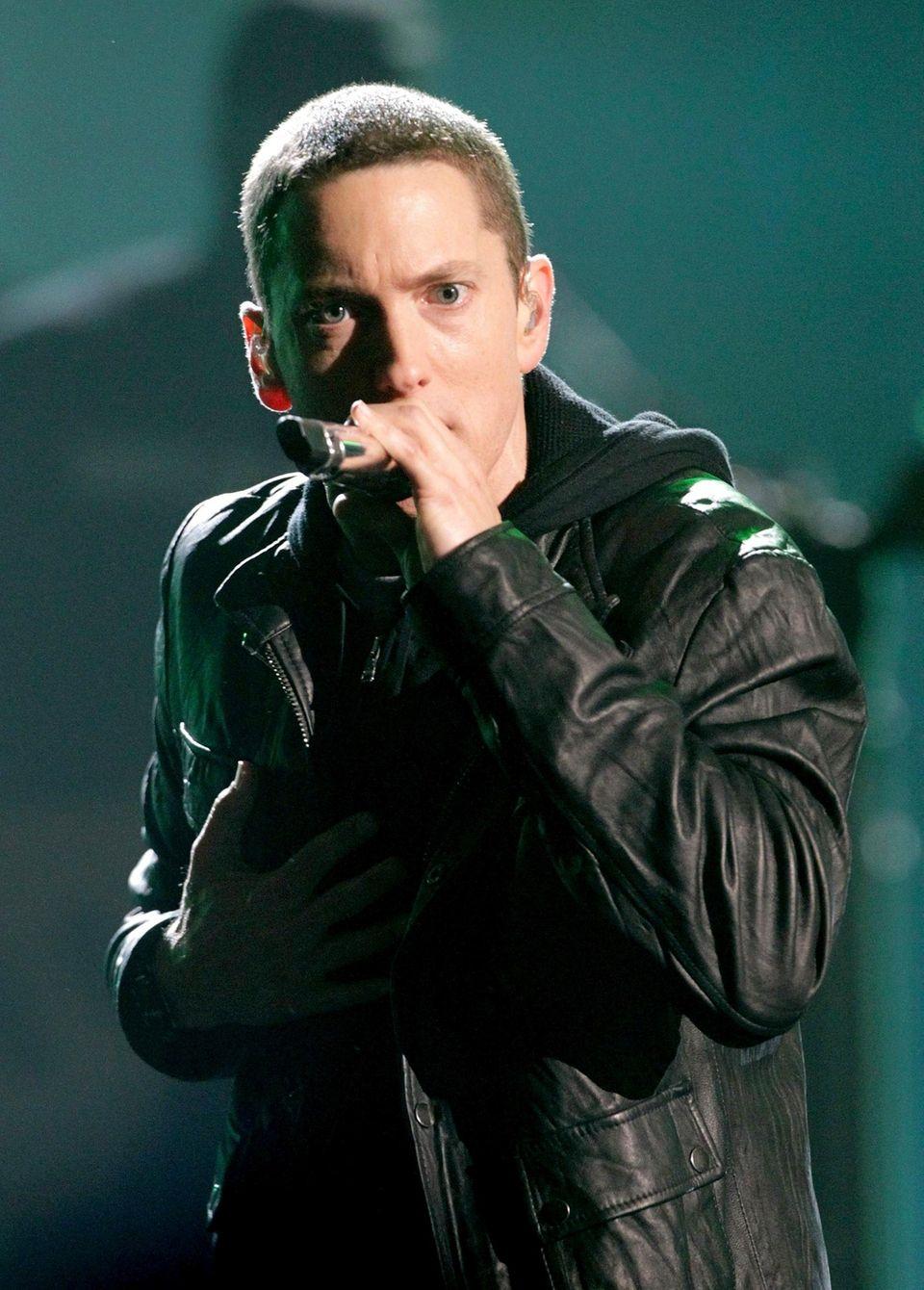 Eminem was born on Oct. 17, 1972.