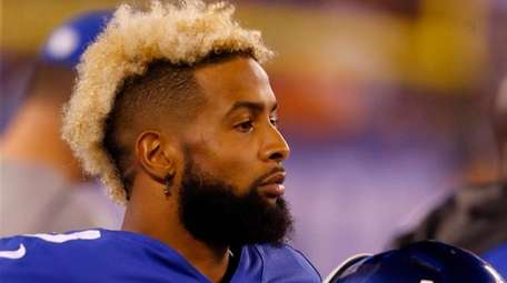 Odell Beckham Jr. #13 of the New York