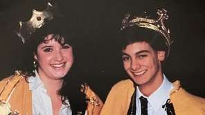 Justin Picciano and Doreen Sackman are crowned homecoming