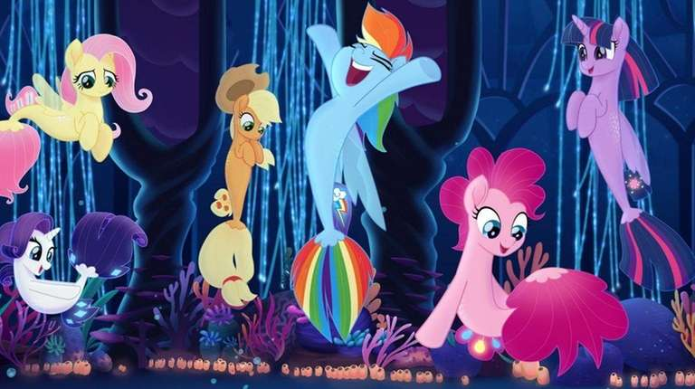 The Mane 6 in