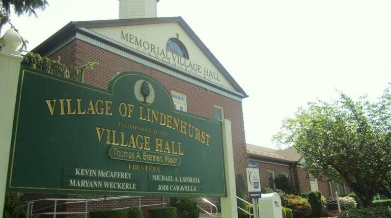 Lindenhurst Village Hall on June 7, 2011.