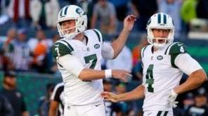 Jets players discussed their 23-20 overtime win over