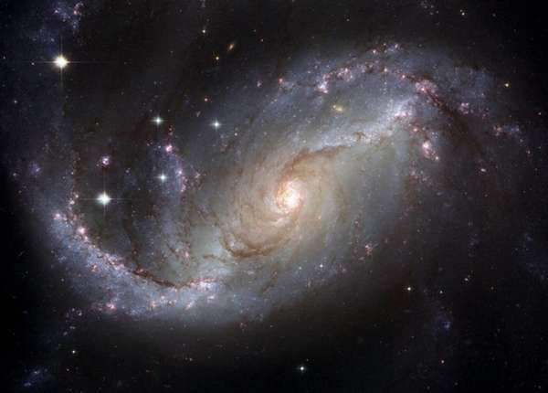 This NASA Hubble Space Telescope view of the