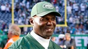 Jets head coach Todd Bowles walks off the field