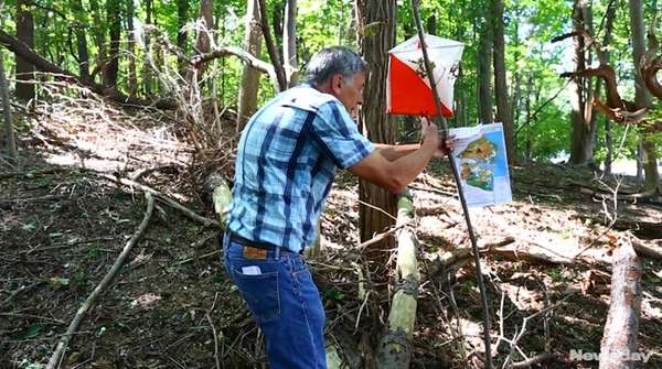 In late September 2017, the Long Island Orienteering