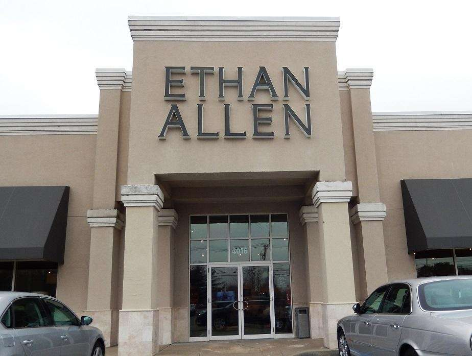 Ethan Allen stores can be found in
