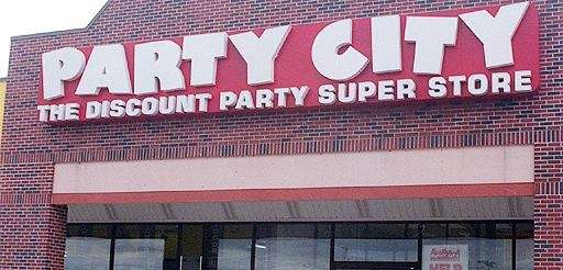 A Party City in an undated photo.