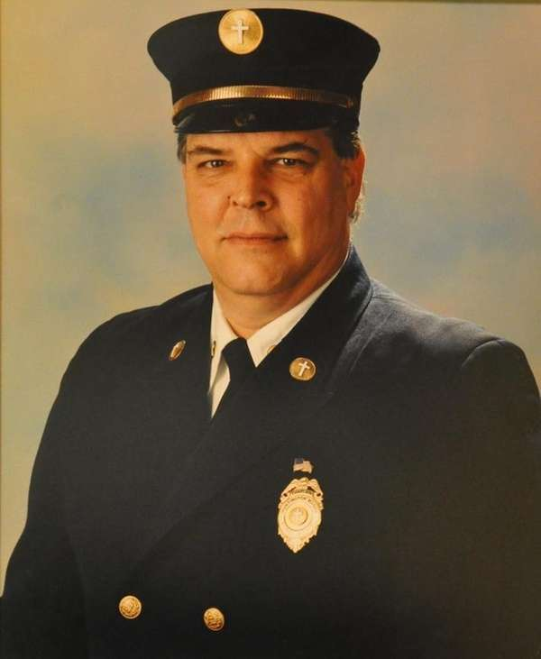 Richard Holst was a firefighter and chaplain for
