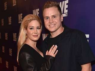 Spencer Pratt and Heidi Montag attend a WE