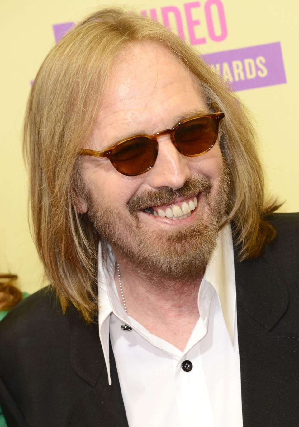 Tom Petty arrives for the MTV Video Music