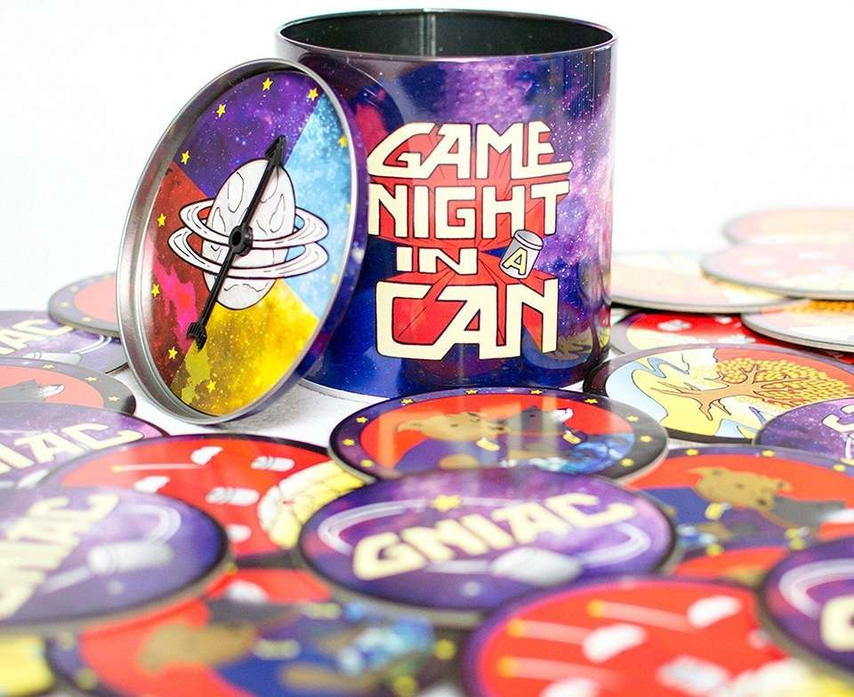 This all-in-one game night set comes with a
