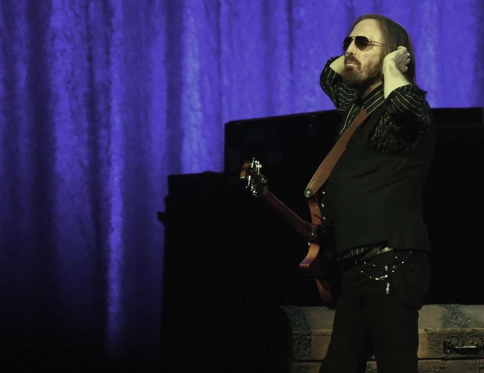 Tom Petty and the Heartbreakers perform during their