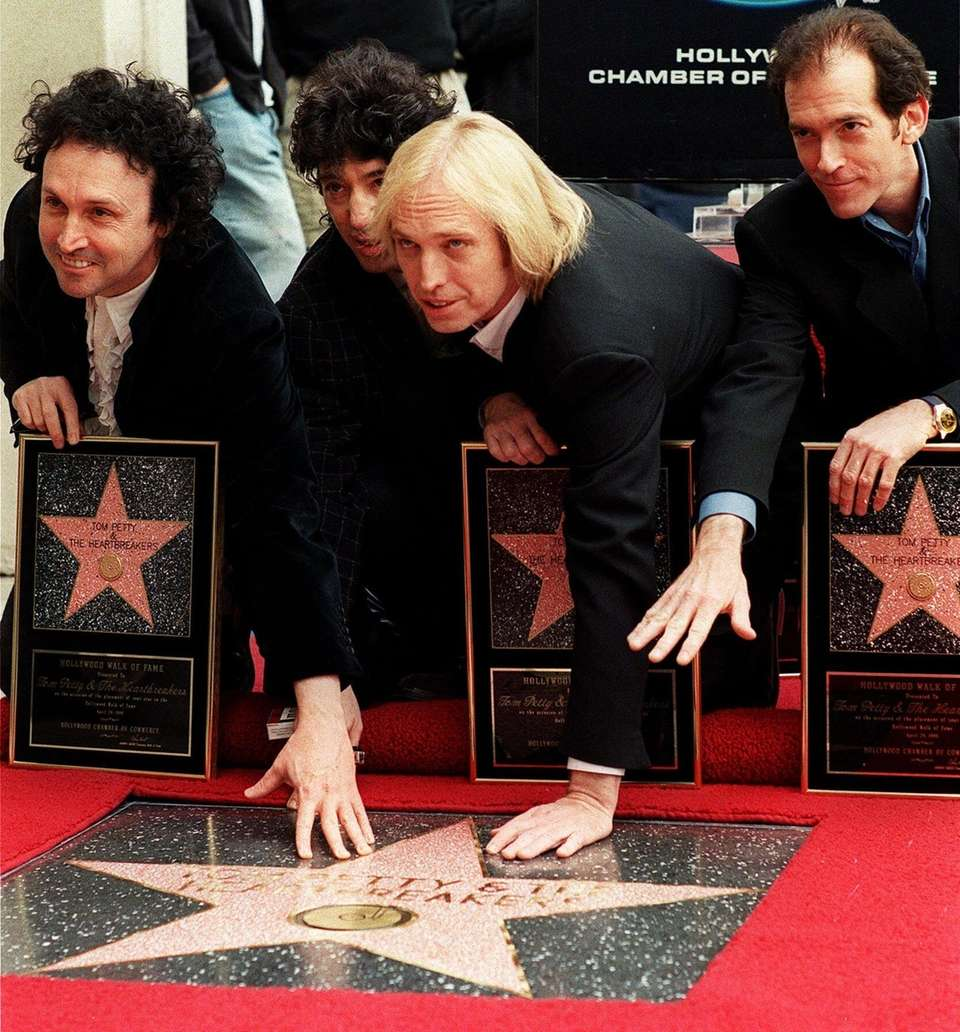 Tom Petty and the Heartbreakers were honored with